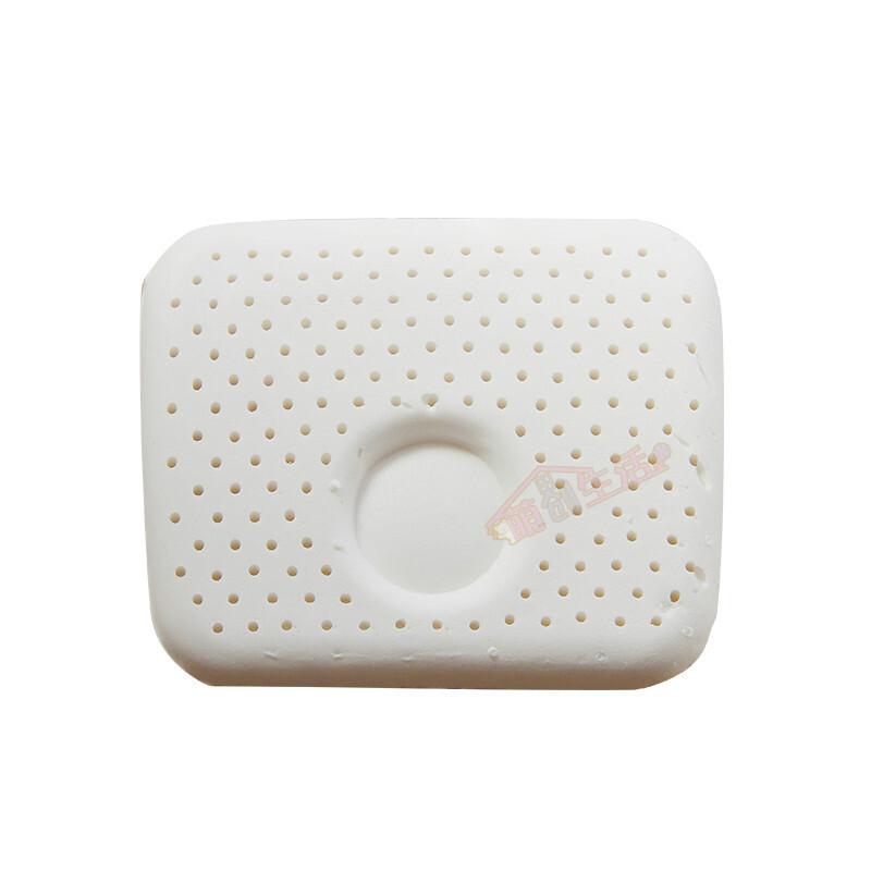e新生儿定型枕天然乳胶枕头芯有机彩棉ns999