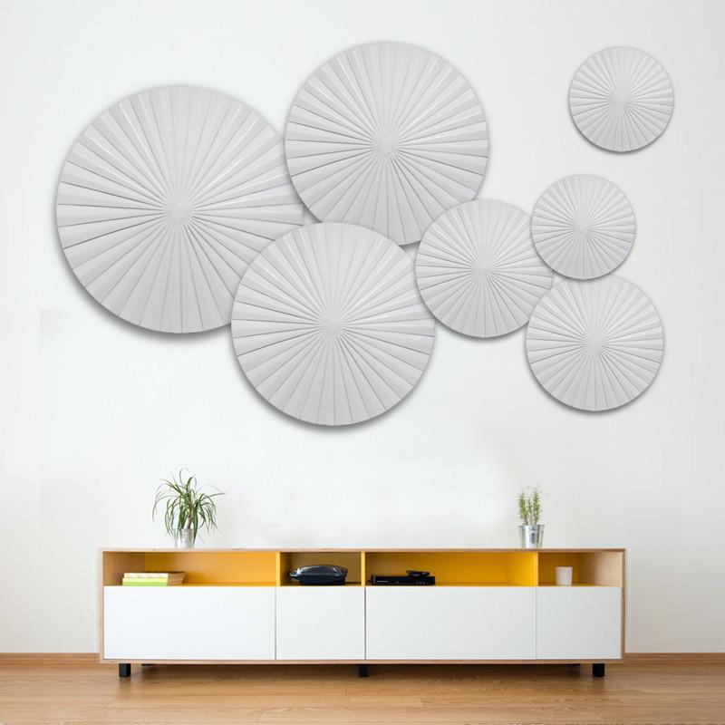 新款2018创意家居欧式装饰品3d立体壁饰壁挂客厅电视背景墙面挂饰墙饰图片