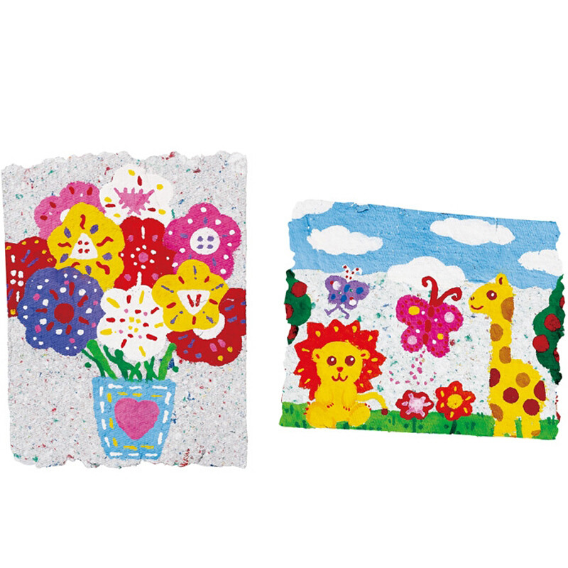贝乐高哈哈造纸机7358幼儿园手工创意贺卡儿童玩具 标配
