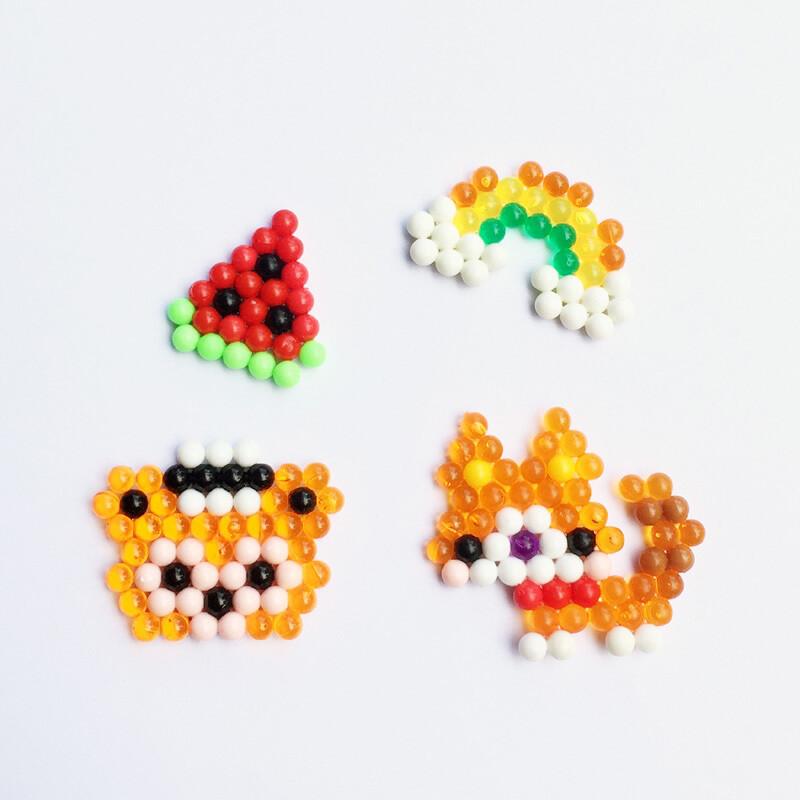水雾儿童神奇魔法珠玩具套装水露拼豆水粘珠diy手工制作女孩益智
