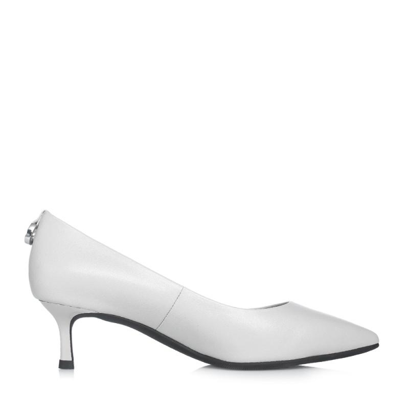 senda/森达2018春季新款专柜同款真皮中跟浅口女单鞋4图片