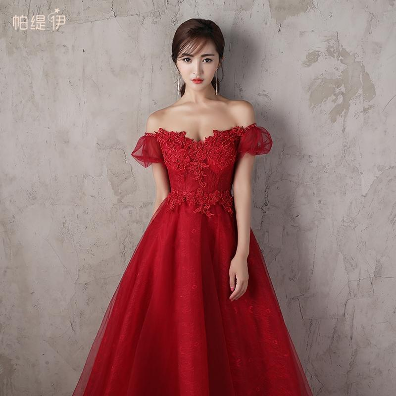 礼服长款结婚
