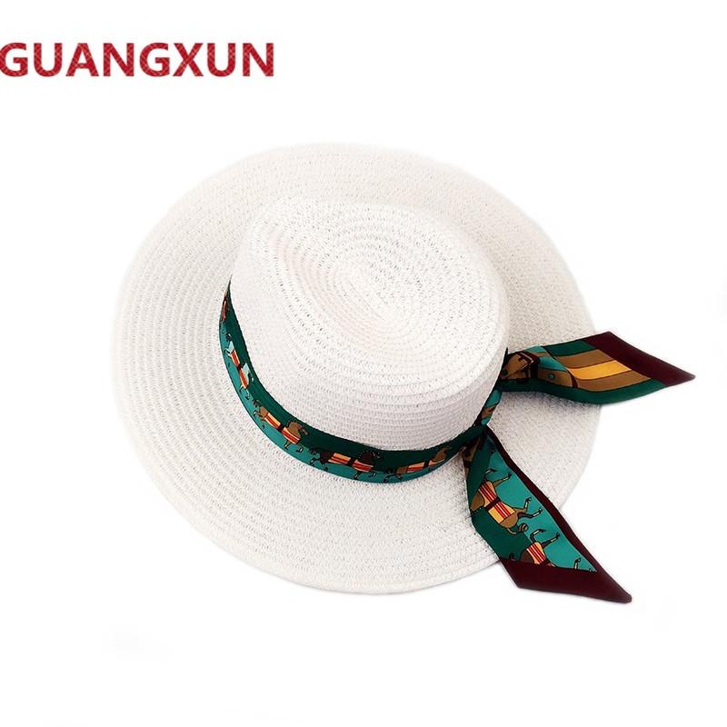 帽子女夏墨西哥丝带小马沙滩海边防晒礼帽遮阳凉帽平檐帽草帽