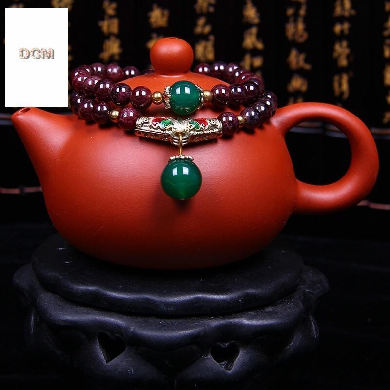 茶壶红绳编法图红绳手链编法图解解