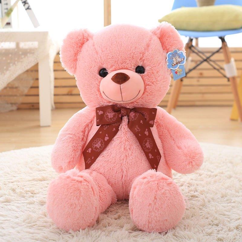 促销毛绒玩具小号泰迪熊公仔布娃娃可爱小熊儿童玩偶抱抱熊生日礼物女