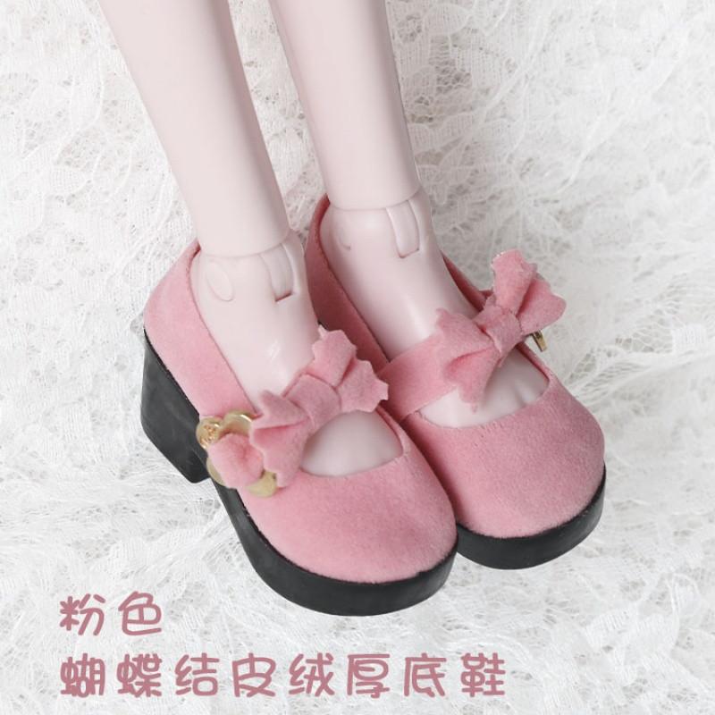 促销50cm叶罗丽娃娃鞋子冰公主夜萝莉bjd/sd高跟鞋马丁靴换装运动图片