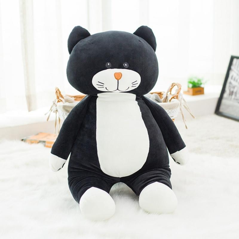 促销卡通大脸猫公仔抱着睡觉的娃娃可爱少女心小猫咪超萌玩偶韩国搞怪