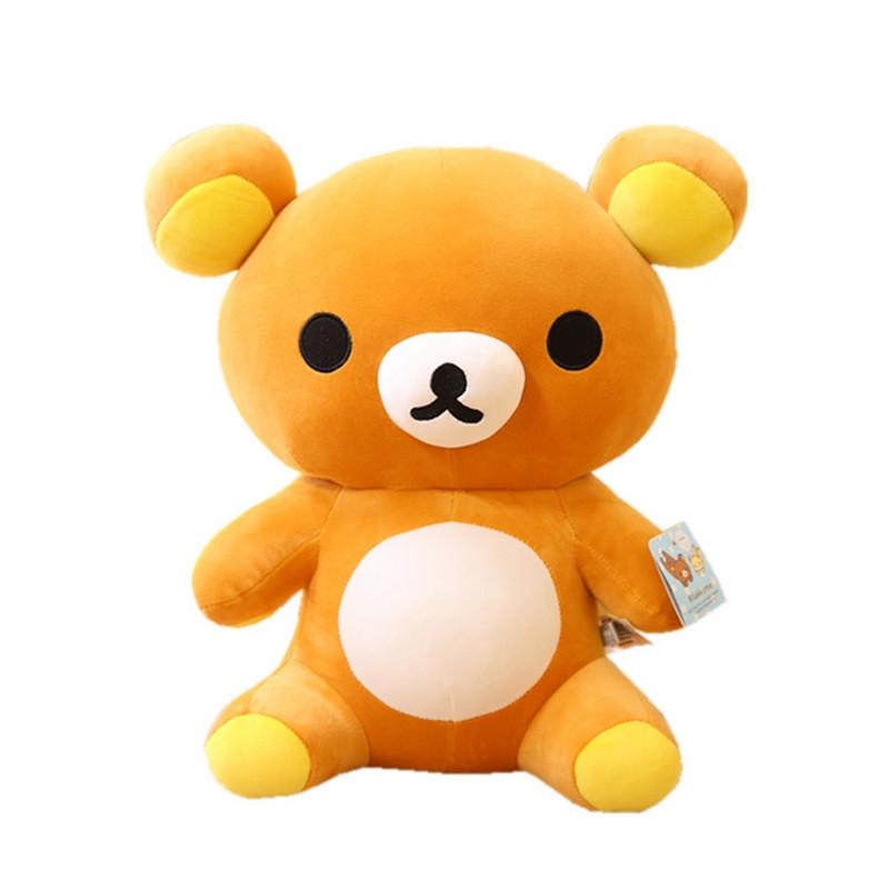 促销可爱玩具熊轻松小熊公仔毛绒玩具轻松熊大号睡觉抱枕女生生日礼物