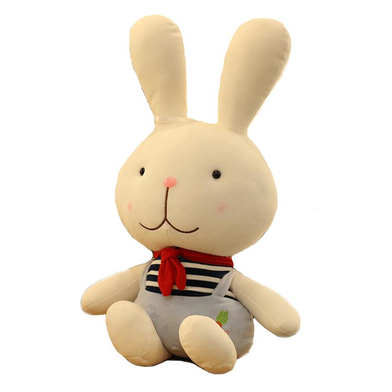 促销软体毛绒玩具兔子公仔小学生兔情侣娃娃玩偶儿童可爱超萌礼物女生