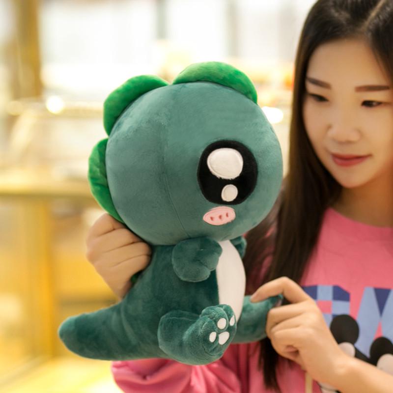 促销可爱恐龙毛绒玩具公仔抱枕布娃娃玩偶小怪兽儿童男孩女生生日礼物