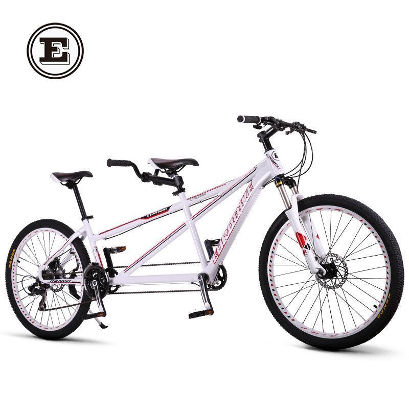 欧拜克铝合金旅行自行车风景旅游观光自行车情侣车