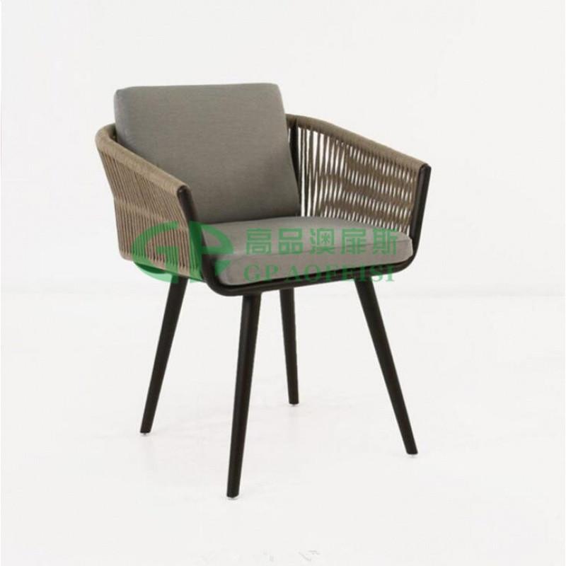 户外家具 休闲阳台藤桌椅 设计师专用椅 庭院别致编藤