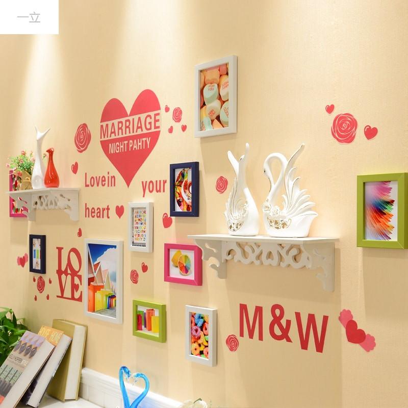 一立新款特价墙上装饰品餐厅卧室客厅装饰墙面贴纸背景墙电视墙贴画