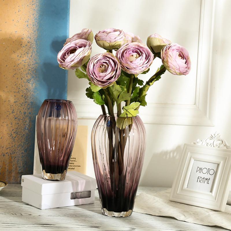 透明玻璃花瓶北欧 大号客厅插花装饰摆件简约玄关水培