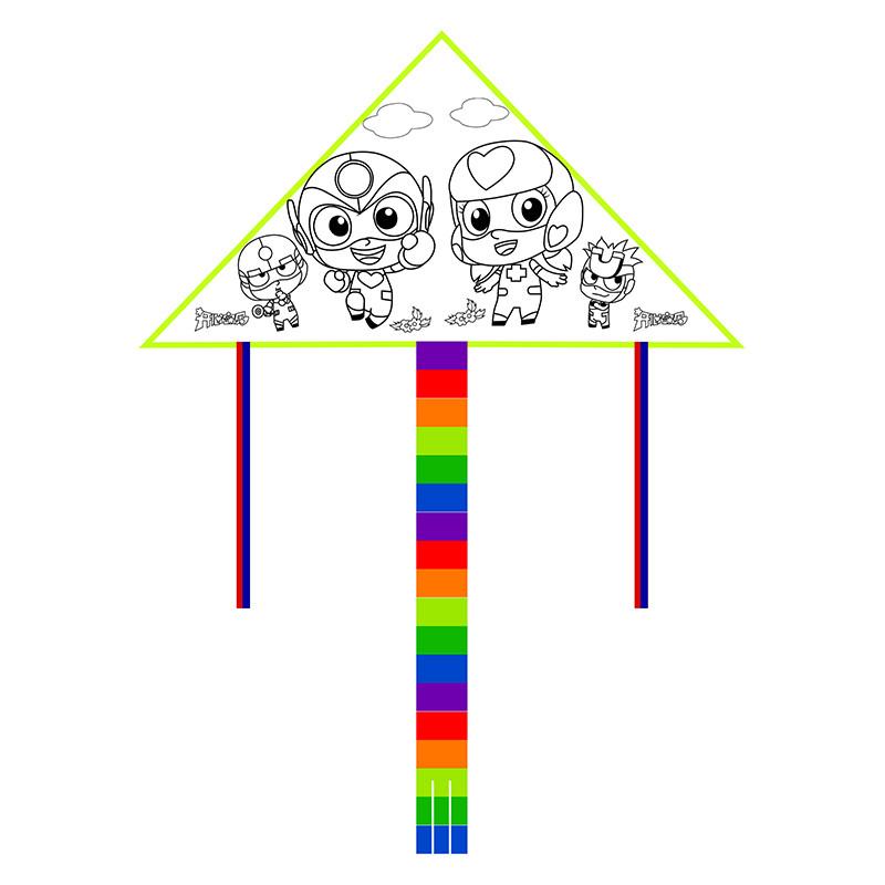 潍坊diy手绘风筝 儿童风筝教学风筝 亲子创意绘画风筝
