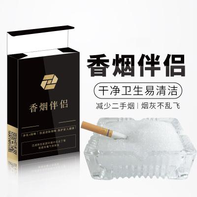 空气洁净片空气清新剂厕所烟灰缸熄烟片除烟味除二手烟 10包装(共100小包)都市诱惑