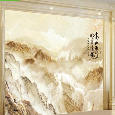現代簡約瓷磚山水客廳工程裝修格子藝術別墅浴室裝飾別墅中式中式都市誘惑