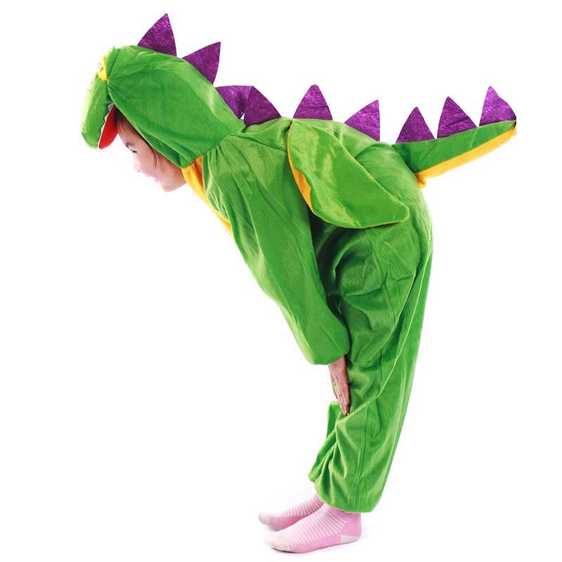 圣诞节儿童恐龙服装动物表演服cosplay男女童演出服