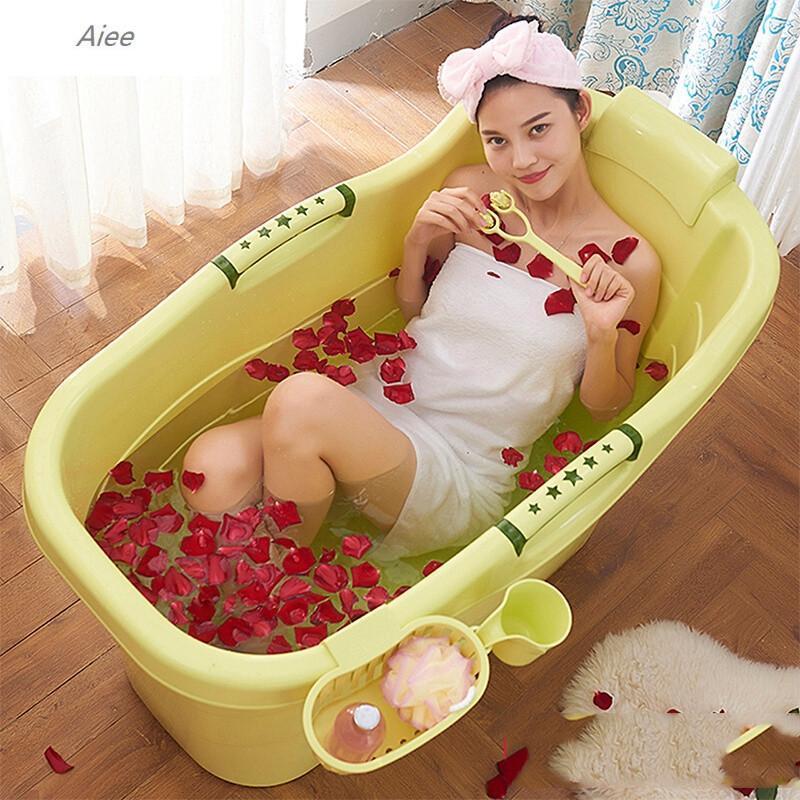 www超成人免费看com_加厚硬塑料成人浴桶超大号儿童宝宝洗澡桶木沐浴缸浴盆泡澡桶带