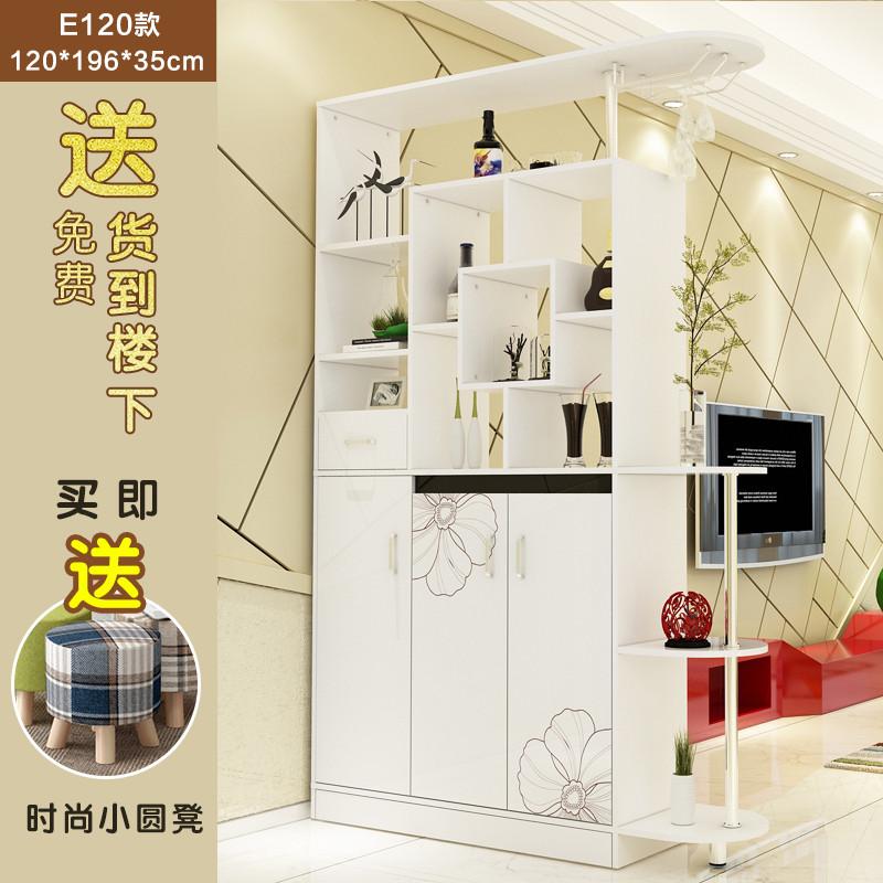 現代簡約客廳玄關柜酒柜雙面隔斷門廳柜子屏風餐廳裝飾柜儲物鞋柜