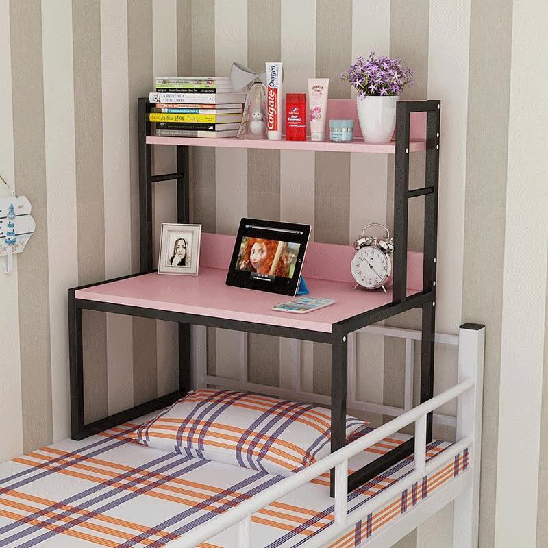 大学生宿舍床上书桌书架组合寝室笔记本小桌子床上用电脑桌上铺桌图片