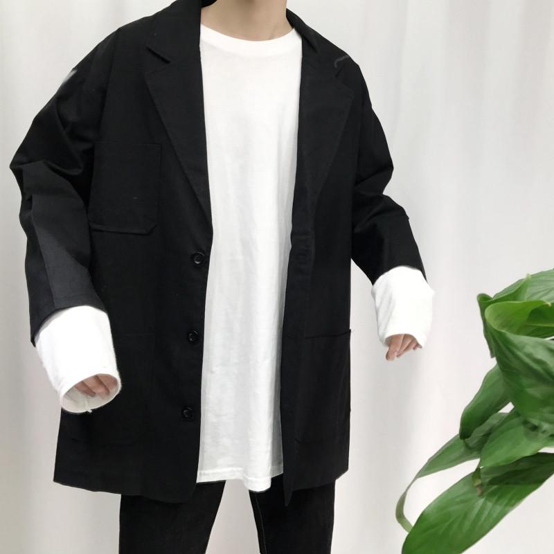 宽松西装外套