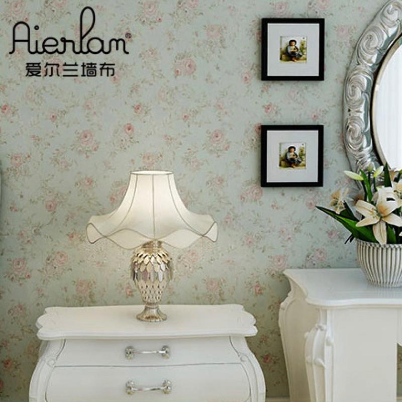 美式田园无缝墙布客厅卧室沙发床头电视背景墙纸中式壁布生产厂家