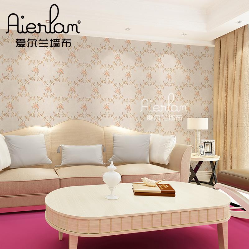 简欧刺绣无缝墙布现代新中式电视背景墙欧式客厅墙纸绣花壁布厂家