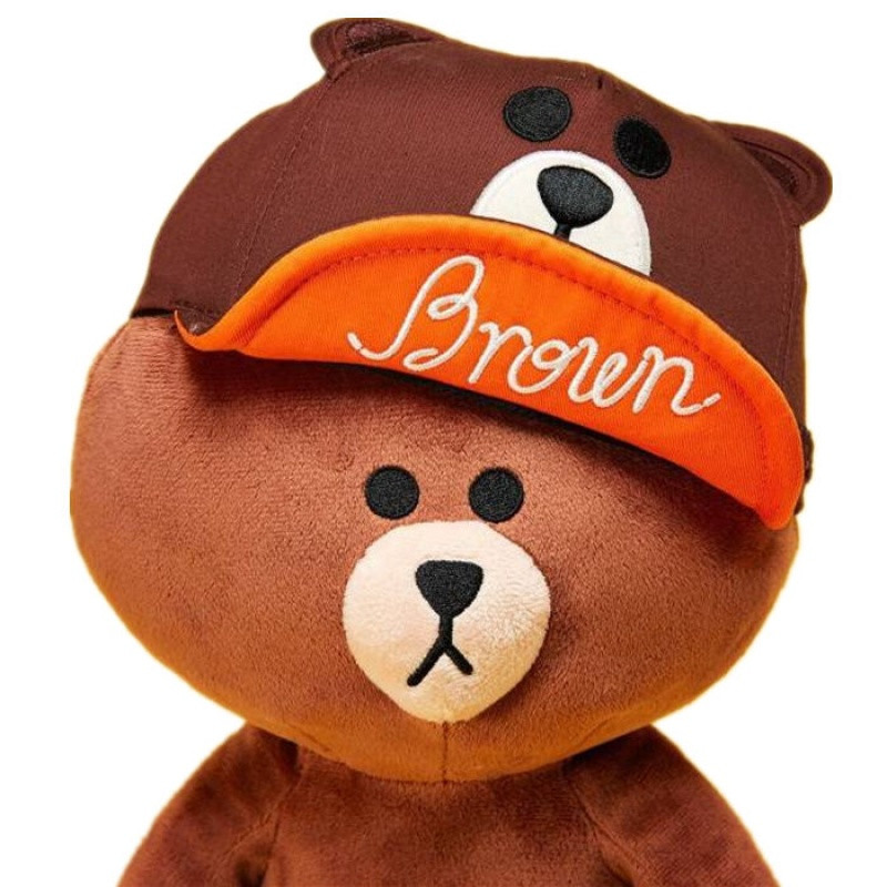韩国萌可爱布朗熊公仔可妮兔娃娃抱抱熊毛绒玩具女生玩偶送女友