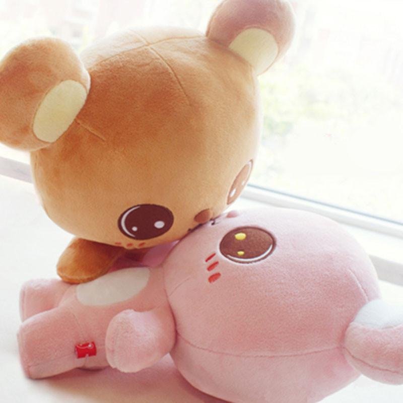 创意玩偶熊摆件毛绒玩具可爱情侣一对送女友小号公仔压床布娃娃摆件