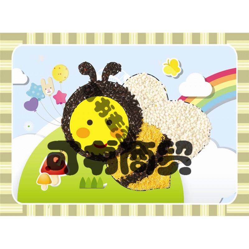 可书儿童手工diy立体贴画 五谷杂粮粗粮食种子画 豆豆