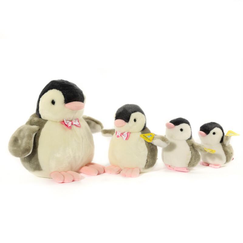 欧麦琪小企鹅毛绒玩具可爱公仔抱枕女生礼物