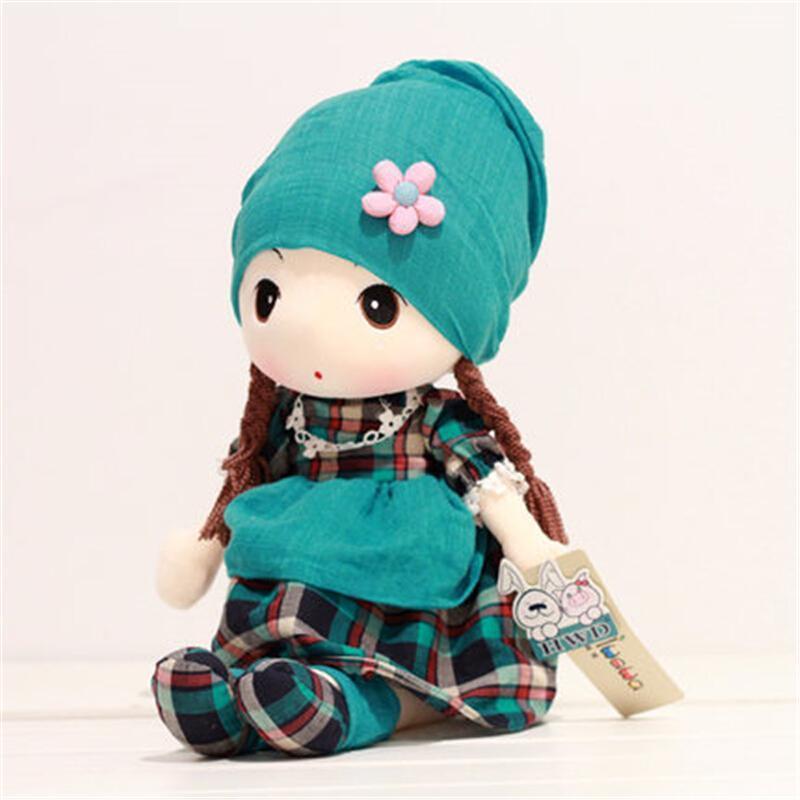 新年礼物可爱公主格格菲儿布娃娃毛绒玩具洋娃娃布偶儿童礼物女孩生日