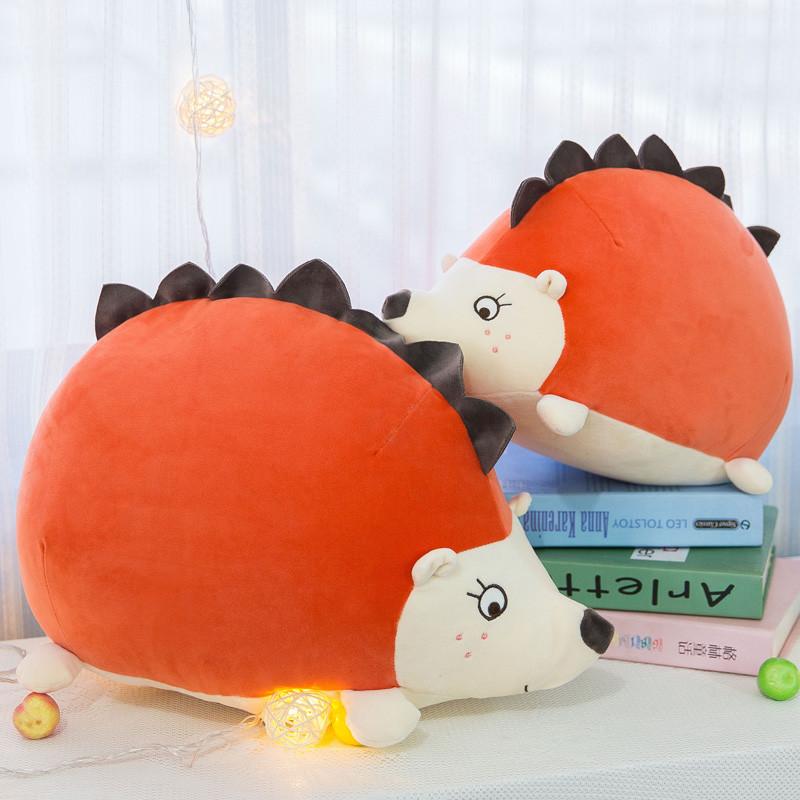 促销刺猬抱枕 卡通布娃娃毛绒玩具软体 抱着睡觉的娃娃生日礼物送女孩