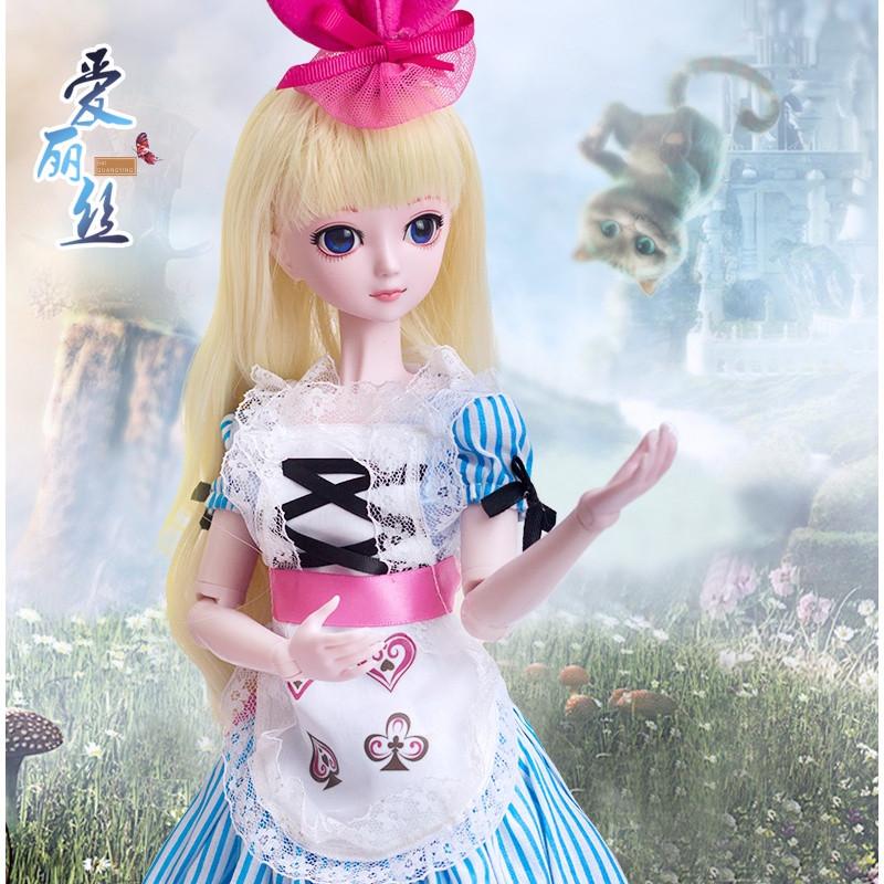 叶罗丽娃娃正品50cm冰公主夜萝莉仙子白光莹全套精灵梦叶萝莉套装图片图片