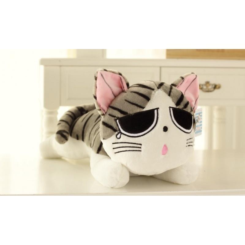 起司猫公仔大号可爱毛绒玩具甜甜私房猫公仔萌小奇猫抱枕饭团猫