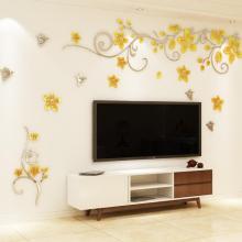 电视机墙纸背景墙贴画客厅图片
