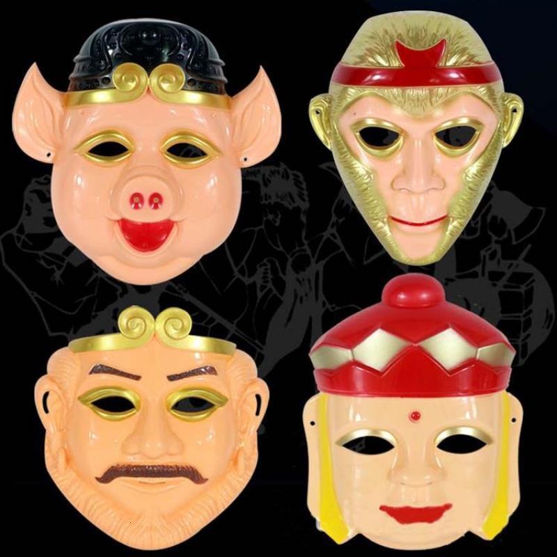 兒童節禮物 孫悟空面具豬八戒面具唐僧面具沙和尚圖片