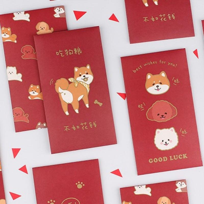 2018新春节日千元创意红包福利袋新年压岁钱利是封旺财旺旺礼金袋