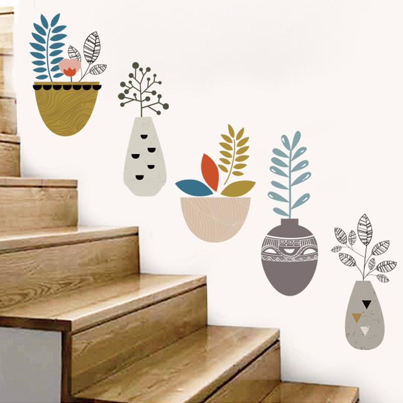 幼儿园楼梯走廊墙壁创意画