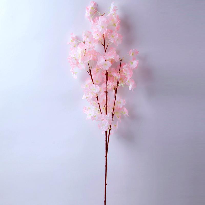 婚庆装饰花仿真樱花枝梨花树枝樱花树绢布客厅假花干花花束