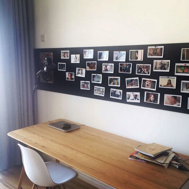 网格照片墙相框墙毛毡置物板ins夹子相片墙装饰创意个性北欧