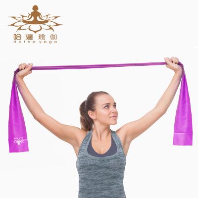 哈达瑜伽弹力带男士力量训练阻力带拉伸运动拉力用品健身伸展带女