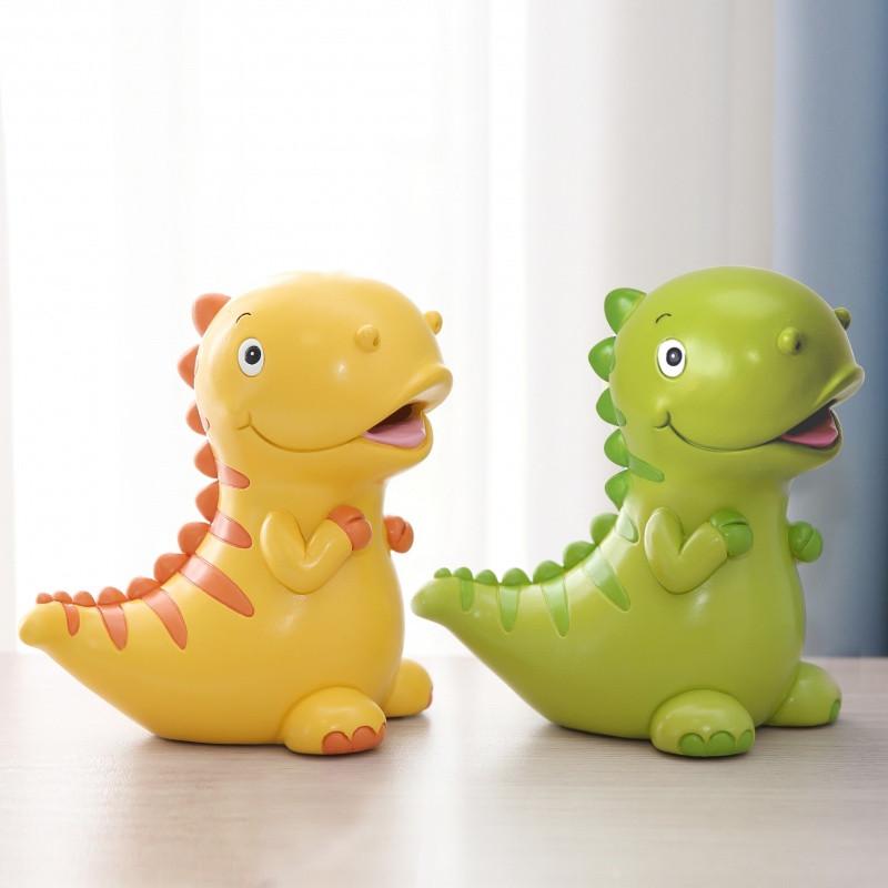 小恐龙存钱罐儿童韩国创意卡通储蓄罐储钱罐可爱摆件结婚生日礼物