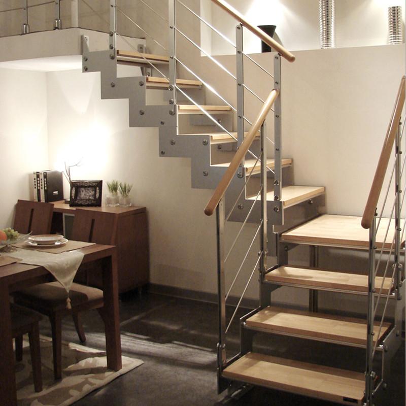 鹤舞 楼梯家用楼梯室内楼梯复式楼梯旋转楼梯阁楼楼梯