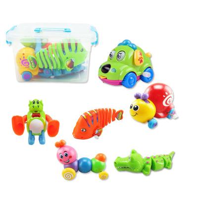 悦臻 儿童早教益智玩具 1-3-4-5-6岁无毛刺环保塑料玩具 男孩女孩宝宝玩具 发条上链玩具新奇特创意玩具礼物乐玩装