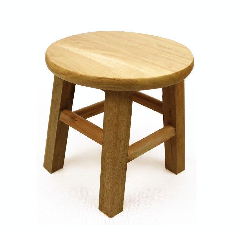凳子实木凳矮凳小圆凳小板凳椅子换鞋凳方凳小凳子儿童椅子家用生活日图片