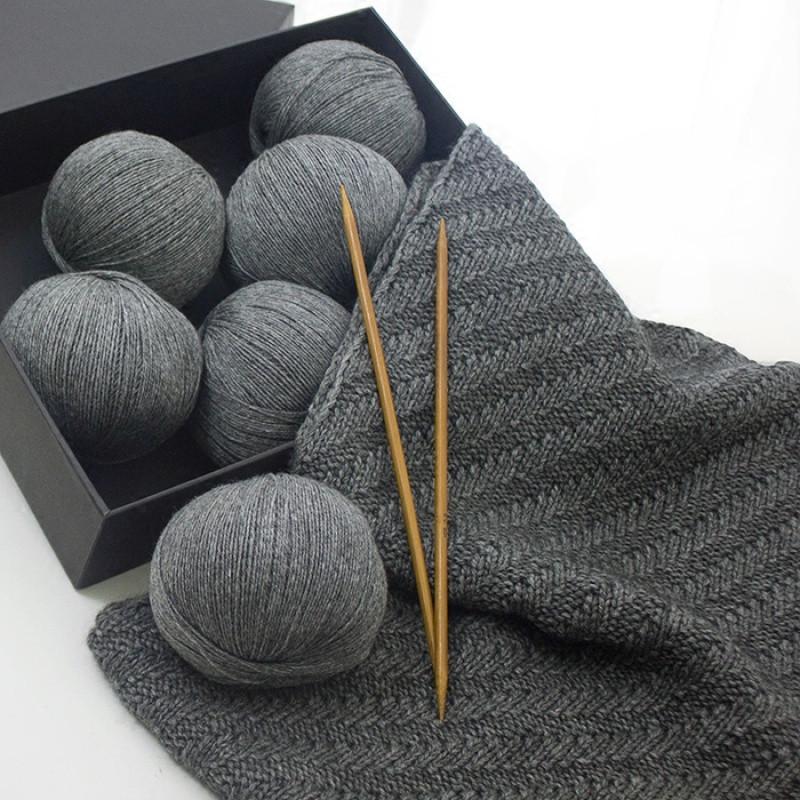 手工diy编织材料中粗围脖细毛线特价男女士山羊绒围巾毛衣线