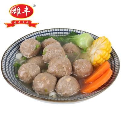 雄丰牛筋丸500g包装小吃打火锅麻辣烫关东煮肉丸子食材