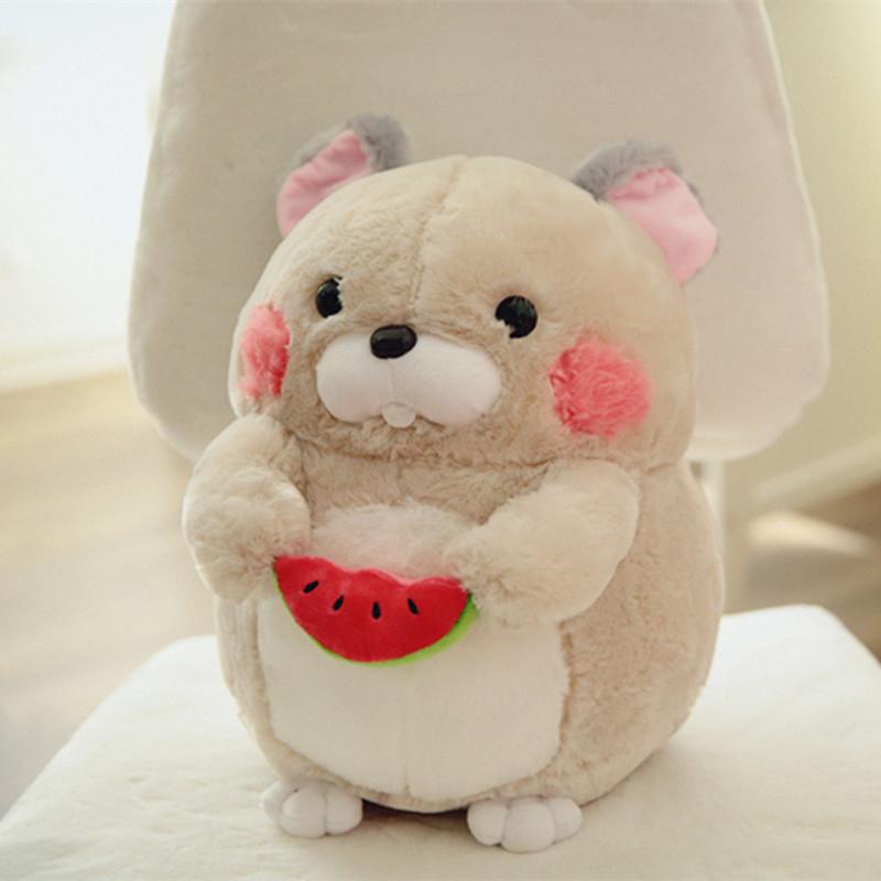 毛绒玩具超萌仓鼠公仔可爱玩偶布娃娃儿童情人节礼物送女生